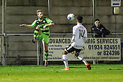 Forest Green Rovers Wade Elliott during the Friendly match between Weston Super Mare and Forest Green Rovers at the Woodspring Stadium, Weston Super Mare, United Kingdom on 11 October 2016. Photo by Shane Healey.