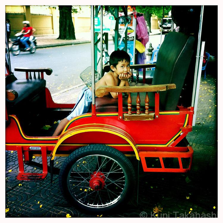 Phnom Penh in Cambodia in May 2012..Photo by Kuni Takahashi