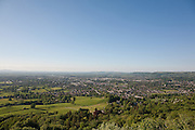 Panoramic View on Cheltenham Spa Town from Leckhampton Hill
