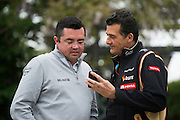 April 20, 2014 - Shanghai, China. UBS Chinese Formula One Grand Prix. Eric Boullier, Mclaren Mercedes