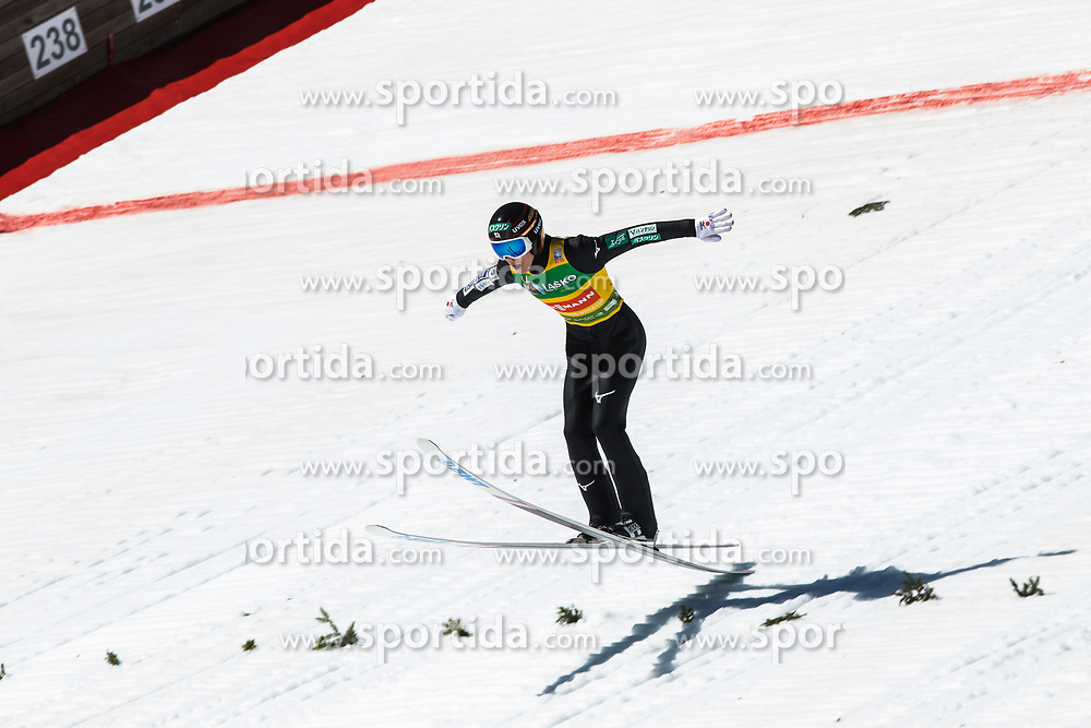 Ryoyu Kobayashi (JPN) set new hill record at 252m during   the 1st round of the Ski Flying Hill Individual Competition at Day 4 of FIS Ski Jumping World Cup Final 2019, on March 24, 2019 in Planica, Slovenia. Photo Peter Podobnik / Sportida