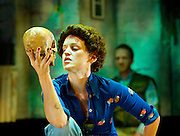 Adler & Gibb <br /> written & directed by Tim Crouch <br /> co-directed by Karl James and Andy Smith <br /> at The Royal Court Theatre, London, Great Britain <br /> Press Photocall<br /> 17th June 2014 <br /> <br /> Amelda Brown as Gibb <br /> <br /> Brian Ferguson as Sam<br /> <br /> Denise Gough as Louise<br /> <br /> Rachel Redford as Student