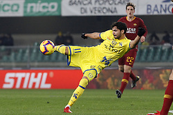 February 8, 2019 - Verona, Italia - Foto Paola Garbuio/LaPresse.08 febbraio 2019 Verona, Italia.sport.calcio.Chievo Verona  vs Roma- Campionato di calcio Serie A TIM 2018/2019 - stadio Bentegodi.Nella foto: occasione gol di leris..Photo Paola Garbuio/LaPresse.february  08, 2019 Verona, Italy.sport.soccer.Chievo Verona  vs Roma  - Italian Football Championship League A TIM 2018/2019 -  stadio Bentegodi..In the pic:leris (Credit Image: © Paola Garbuio/Lapresse via ZUMA Press)