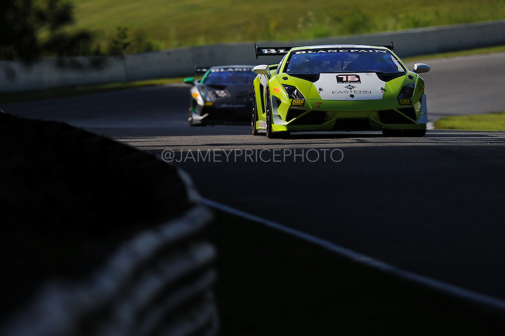 #76 Aaron Povoledo, Corey Lewis, Musante Motorsport, Lamborghini of Boston<br /> Round 7<br /> Canadian Tire Motorsport Park <br /> July 12, 2014
