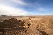 Israel, Negev Desert, Faran plains, Wadi Ada gorge