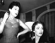 Ethel Merman and Julie Andrews
