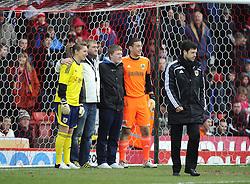 - Photo mandatory by-line: Joe Meredith/JMP - Tel: Mobile: 07966 386802 01/04/2013 - SPORT - FOOTBALL - Ashton Gate - Bristol -  Bristol City V Sheffield Wednesday - Npower Championship