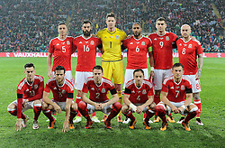 Wales international team - Mandatory by-line: Dougie Allward/JMP - Mobile: 07966 386802 - 24/03/2016 - FOOTBALL - Cardiff City Stadium - Cardiff, Wales - Wales v Northern Ireland - Vauxhall International Friendly