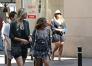 BARCELONA, SPAIN, 2016, JULY 12 <br /> <br /> Maria Sharapova continues in her forced retirement in Barcelona where family has traveled to enjoy their summer holidays. The winner of five Grand Slam titles and former world number one ranking approaches the good weather of the Catalan capital a few turbulent days for her in which it has been known that ultimately can not go to the Olympics in Brazil after giving positive in a doping control. On this occasion consecrated tennis player he could be seen crossing the center of the old city accompanied by a friend. Sharapova went completely unnoticed in the crowd dressed casually in shorts and black shirt and striped shirt. <br /> ©Exclusivepix Media