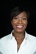 Portrait of MSNBC host Joy Reid, photo by Tony Gale