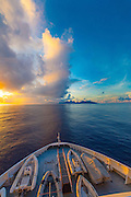 Sunrise, Moorea, French Polynesia