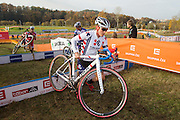 CZECH REPUBLIC / TABOR / WORLD CUP / CYCLING / WIELRENNEN / CYCLISME / CYCLOCROSS / VELDRIJDEN / WERELDBEKER / WORLD CUP / COUPE DU MONDE / #2 / KATIE COMPTON (USA) /