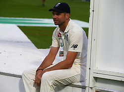 September 11, 2018 - London, Greater London, United Kingdom - England's James Anderson .After  International Specsavers Test Series 5th Test match Day Five  between England and India at Kia Oval  Ground, London, England on 11 Sept 2018. (Credit Image: © Action Foto Sport/NurPhoto/ZUMA Press)