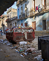 Garbage and Laundry. Morning Walkabout in Old Havana. Image taken with a Leica T camera and 23 mm f/2 camera.