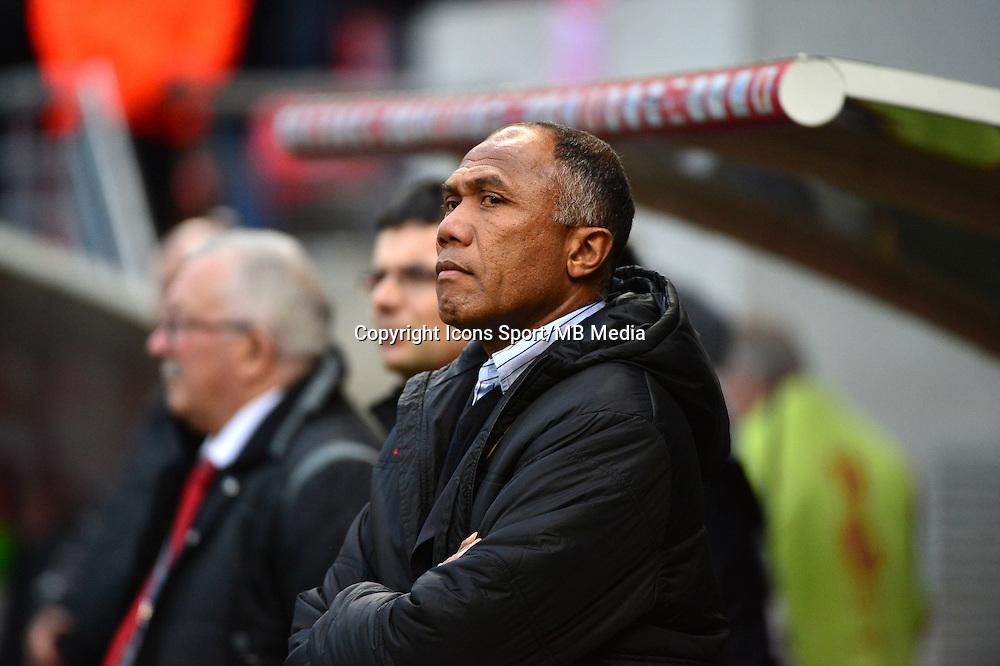 Antoine KOMBOUARE - 25.01.2015 - Reims / Lens  - 22eme journee de Ligue1<br />Photo : Dave Winter / Icon Sport
