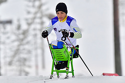 dos SANTOS ROCHA Aline, BRA, LW11 at the 2018 ParaNordic World Cup Vuokatti in Finland
