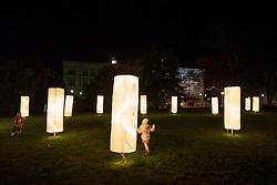 Trg generala Maistra during the prizig praznicnih luck - The switch on the festive lights, on November 29, 2019 in Maribor, Slovenia. Photo by Milos Vujinovic / Sportida