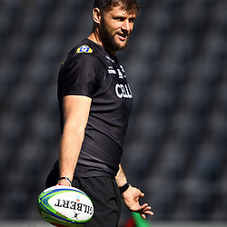 DURBAN, SOUTH AFRICA - MAY 04: Ruan Botha of the Cell C Sharks during the Cell C Sharks captains run at Jonnsons Kings Park on May 04, 2018 in Durban, South Africa. (Photo by Steve Haag/Gallo Images)