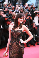 Isabeli Fontana at the gala screening for the film Sicario at the 68th Cannes Film Festival, Tuesday May 19th 2015, Cannes, France.