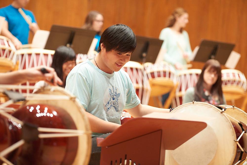 -UWL UW-L UW-La Crosse University of Wisconsin-La Crosse; Band; Candid; Center for the ArtsCFA; Daytime; Diversity; Group; Inside; Man men; Music; November; Student students