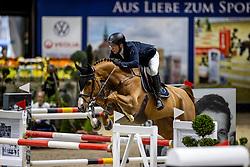 MEYER Tobias (GER), Sea Coast Conbalet<br /> Grand Prix von Volkswagen<br /> Int. jumping competition over two rounds (1.55 m) - CSI3*<br /> Comp. counts for the LONGINES Rankings<br /> Braunschweig - Classico 2020<br /> 08. März 2020<br /> © www.sportfotos-lafrentz.de/Stefan Lafrentz