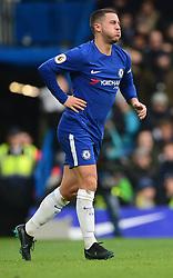 Eden Hazard of Chelsea looks in pain. - Mandatory by-line: Alex James/JMP - 02/12/2017 - FOOTBALL - Stamford Bridge - London, England - Chelsea v Newcastle United - Premier League