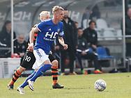 FODBOLD: Martin Jensen (Fremad Amager) under kampen i NordicBet Ligaen mellem Fremad Amager og FC Helsingør den 2. april 2017 i Sundby Idrætspark. Foto: Claus Birch