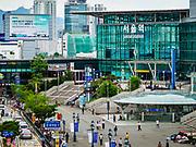 SEOUL, SOUTH KOREA: Seoul Station, the largest train station in South Korea, is in central Seoul just south of downtown.      PHOTO BY JACK KURTZ