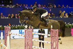 Bost Roger Yves, FRA, Sunshine du Phare<br /> Jumping Amsterdam 2018<br /> © Sharon Vandeput<br /> 26/01/18