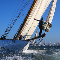 2015, Mariquita, J P Morgan, Round the Island Race. Cowes, Isle of Wight, UK, Sports Photography