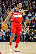 Washington Wizards Troy Brown (6) during the NBA London Game match between Washington Wizards and New York Knicks at the O2 Arena, London, United Kingdom on 17 January 2019.