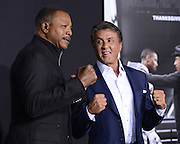 SYLVESTER STALLONE , CARL WEATHERS  and daughters at the premiere of 'Creed' held at the Regency Village theatre.<br /> ©Exclusivepix Media