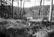Ut i vildmarken tar jag ett skutt