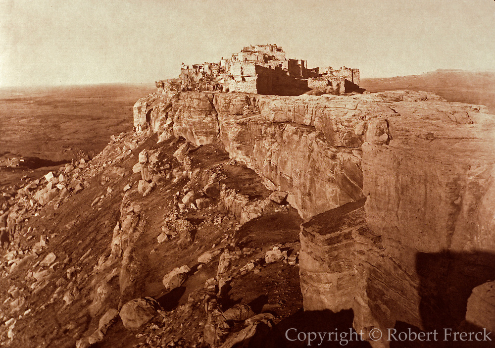 NATIVE AMERICANS E. Curtis photograph, early 20th century, Walpi (present day Hopi village)