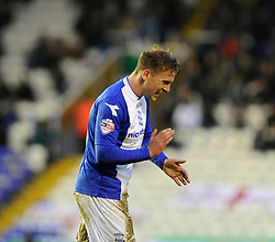 Birmingham City's Brain Howard cuts a frustrated figure - Photo mandatory by-line: Dougie Allward/JMP - Tel: Mobile: 07966 386802 18/01/2014 - SPORT - FOOTBALL - St Andrew's Stadium - Birmingham - Birmingham City v Yeovil Town - Sky Bet Championship