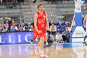 DESCRIZIONE : Torino Coppa Italia Final Eight 2012 Semifinale Montepaschi Siena EA7 Emporio Armani Milano<br /> GIOCATORE : Nicolo Melli<br /> CATEGORIA : esultanza scelta<br /> SQUADRA : EA7 Emporio Armani Milano<br /> EVENTO : Suisse Gas Basket Coppa Italia Final Eight 2012<br /> GARA : Montepaschi Siena EA7 Emporio Armani Milano<br /> DATA : 18/02/2012<br /> SPORT : Pallacanestro<br /> AUTORE : Agenzia Ciamillo-Castoria/C.De Massis<br /> Galleria : Final Eight Coppa Italia 2012<br /> Fotonotizia : Torino Coppa Italia Final Eight 2012 Semifinale Montepaschi Siena EA7 Emporio Armani Milano<br /> Predefinita :