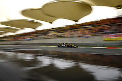 April 14, 2018 - Shanghai, China - Shanghai: Motorsports: Formula 1 2018 Heineken Chinese Grand Prix.Chinese Formula One Grand Prix Shanghai Circuit April 08, 2018 in Shanghai, China.#55 Carlos Sainz (ESP, Renault  (Credit Image: © Hoch Zwei via ZUMA Wire)
