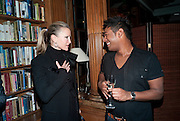 TYRONE JONES; CAPRICE, Launch of  KILIMANJARO APPEAL in aid of TODAY AND TOMORROW and HOPE HOUSE , THE WOMEN'S UNIVERSITY CLUB, S. Audley sq. London. 18 October 2010. <br />  -DO NOT ARCHIVE-© Copyright Photograph by Dafydd Jones. 248 Clapham Rd. London SW9 0PZ. Tel 0207 820 0771. www.dafjones.com.