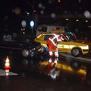 Ongeval Amersfoortsestraatweg - Crailoseweg, wegenwachtauto