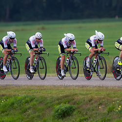 Boels Rental Ladies Tour Coevorden TTT 14th Parkhotel Valkenburg LadiesAafke Eshuis, Bianca van den Hoek, Ilona Hoeksma, Jermaine Post, Rozanne Slik, Ashleigh Neave