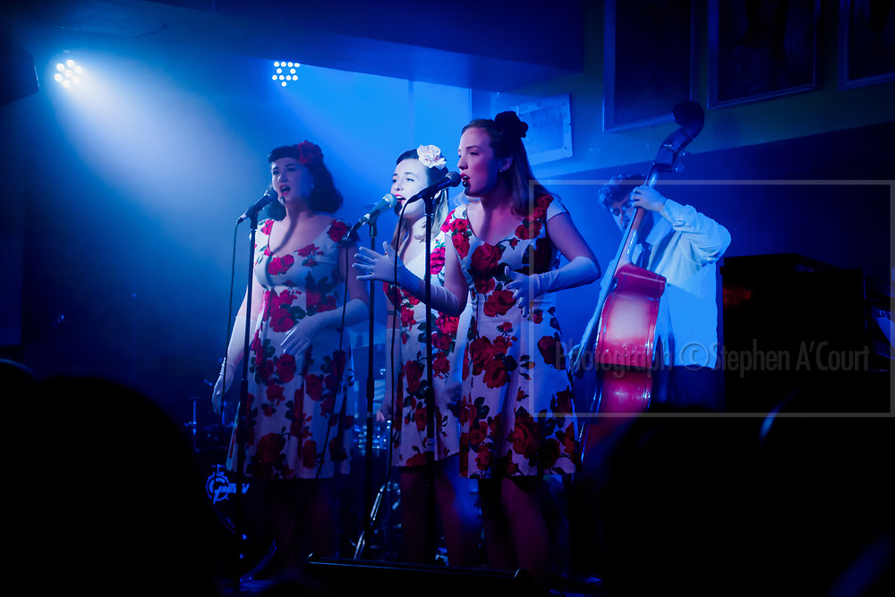Wellington Jazz Festival 2017, Sing Sing Sing, Meow Bar, Wellington, NZ. 9 June 2017. Please credit photo: Stephen A'Court.