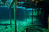 Doc Paulson amidships interior, Doc Paulson, Grand Cayman