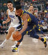 NBA - Indiana Pacers vs Orlando Magic - Indianapolis, In