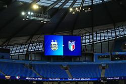 A general view of the Etihad Stadium - Mandatory by-line: Matt McNulty/JMP - 23/03/2018 - FOOTBALL - Etihad Stadium - Manchester, England - Argentina v Italy - International Friendly
