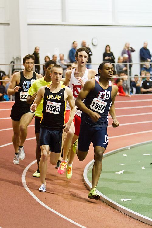 Boston University Terrier Invitational Indoor Track Meet: Galen Rupp, Oregon Project, wins Elite Mile 3:50.92