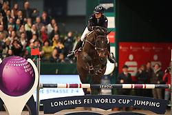 Mendoza Jessica, (GBR), Spirit T<br /> Longines FEI World Cup<br /> CSIO Leipzig 2016<br /> © Hippo Foto - Stefan Lafrentz