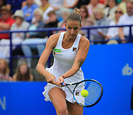 KAROLINA PLISKOVA (CZE), Finale, Endspiel<br /> <br /> Tennis - Aegon International Eastbourne - WTA -  Devonshire Park Lawn Tennis Club - Eastbourne -  - Great Britain  - 1 July 2017. <br /> &copy; Juergen Hasenkopf