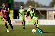 Joseph Mills of Forest Green Rovers on the attack during the EFL Sky Bet League 2 match between Forest Green Rovers and Stevenage at the New Lawn, Forest Green, United Kingdom on 21 September 2019.
