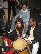 **EXCLUSIVE**.Ivete Sangalo with boyfriend Andreas and PM Lounge owner Unik.PM Lounge.New York City, NY, USA.Tuesday, September, 18, 2007.Photo By Selma Fonseca / Celebrityvibe.com.To license this image call (212) 410 5354 or;.Email: celebrityvibe@gmail.com; .Website: www.celebrityvibe.com .