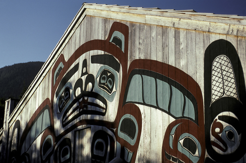 Tribal House.Ketchikan.Alaska.USA